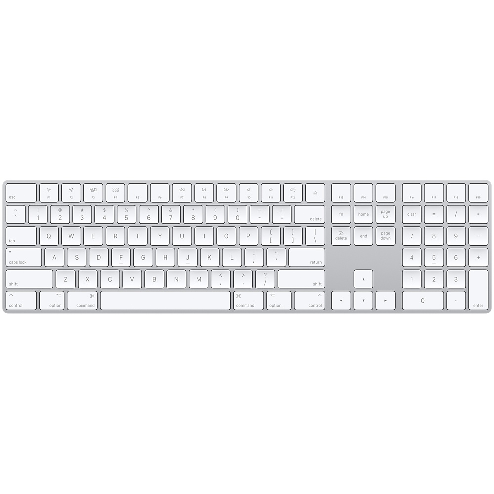 Magic Keyboard with Numeric Keypad MQ052HB/A Apple אפל - יבואן רשמי