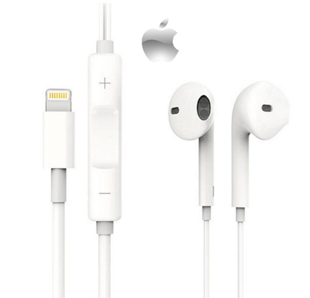 אוזניות ‏חוטיות Apple EarPods with Lightning