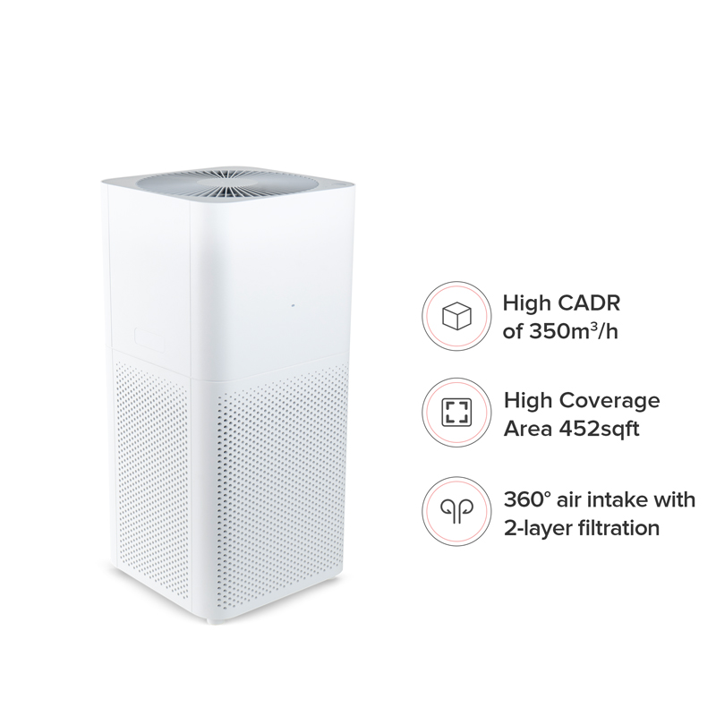 מטהר אוויר/מסנן אוויר Xiaomi Mi Air Purifier 2C שיאומי DUP